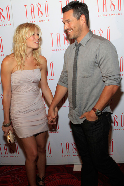 Eddie Cibrian LeAnn Rimes and  Eddie Cibrian arrive at the Tabu Ultra Lounge at the MGM Grand Hotel/Casino on September 4, 2010 in Las Vegas, Nevada.