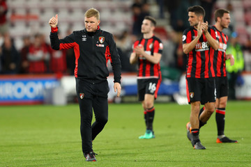 Eddie Howe AFC Bournemouth Vs. Manchester United - Premier League