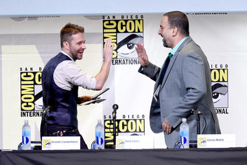 Eddie Ibrahim Comic-Con International 2016 - 'Sherlock' Panel
