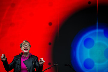 Eddie Izzard The Labour Party Holds A Festival Of Arts, Politics and Music