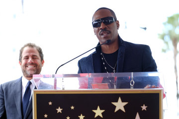 Eddie Murphy Brett Ratner Honored With Star On The Hollywood Walk Of Fame