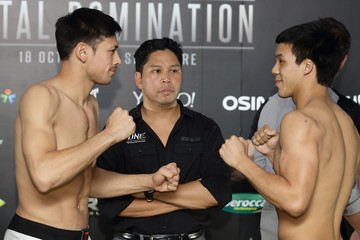 Eddie Ng One Fighting Championship Weigh-In