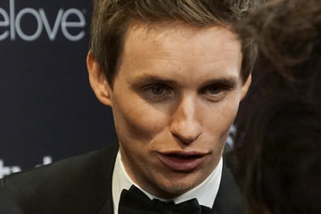 Eddie Redmayne Warner Bros. Pictures and InStyle Host 18th Annual Post-Golden Globes Party - Arrivals