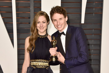 Eddie Redmayne 2015 Vanity Fair Oscar Party - Best Of
