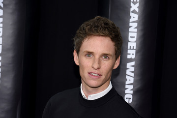 Eddie Redmayne Arrivals at the Alexander Wang X H&M Launch