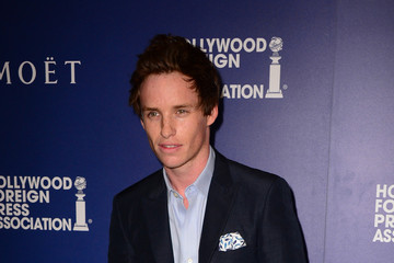 Eddie Redmayne Hollywood Foreign Press Association's Grants Banquet — Part 3