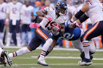Eddie Royal Chicago Bears v Indianapolis Colts