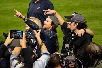 Eddie Vedder World Series - Chicago Cubs v Cleveland Indians - Game Seven