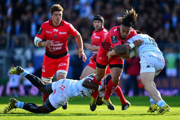 Eddy Ben Arous Racing 92 v RC Toulon - European Rugby Champions Cup Quarter Final