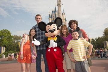 Eden Sher 'The Middle' Tapes Season Finale at Disney World