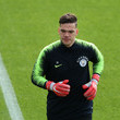 Ederson Manchester City Training Session