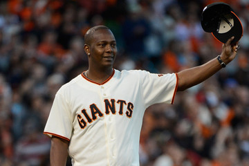 Edgar Renteria Division Series - Cincinnati Reds v San Francisco Giants - Game Two