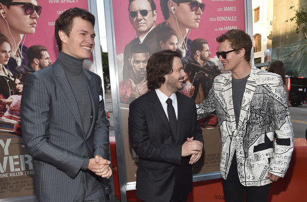 Premiere of Sony Pictures' 'Baby Driver' - Red Carpet [baby driver,event,premiere,adaptation,tourism,red carpet,edgar wright,ansel elgort,warren elgort,california,los angeles,sony pictures,premiere,premiere]