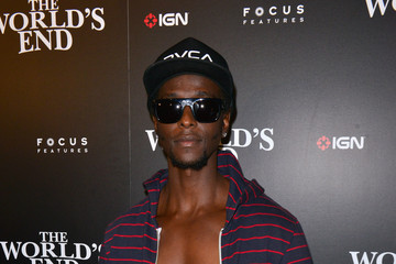 Edi Gathegi Celebs at the IGN/Focus Features Comic-Con Party