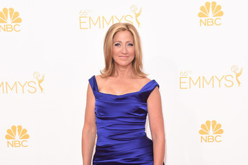 Edie Falco Arrivals at the 66th Annual Primetime Emmy Awards — Part 2