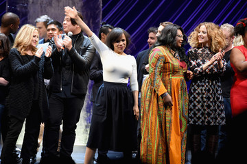 Edie Falco Urban Arts Partnership at the 15th Annual the 24 Hour Plays on Broadway - Curtain Call