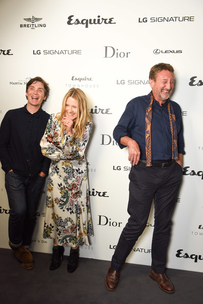An Evening With Steven Knight and Cillian Murphy From 'Peaky Blinders' at Esquire Townhouse With Dior