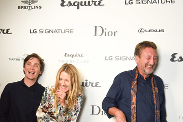 Edith Bowman An Evening With Steven Knight and Cillian Murphy From 'Peaky Blinders' at Esquire Townhouse With Dior