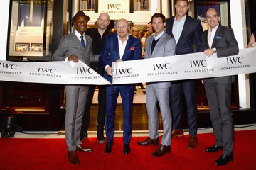 Edouard D'Arbaumont IWC Schaffhausen Rodeo Drive Boutique Opening