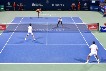 Edouard Roger-Vasselin Rogers Cup presented by National Bank - Day 5