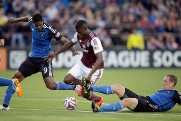 Edson Buddle Colorado Rapids v San Jose Earthquakes
