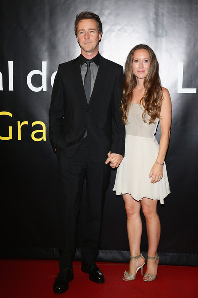 Edward Norton and Shauna Robertson Photos Photos - Zimbio
