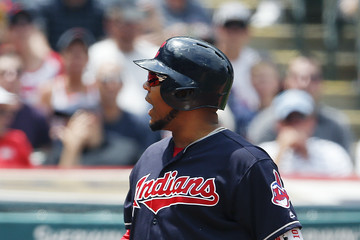 Edwin Encarnacion Tampa Bay Rays v Cleveland Indians