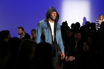 Edwin Hodge The 3rd Annual Blue Jacket Fashion Show Benefitting The Prostate Cancer Foundation - Runway