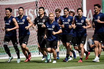 Eiji Kawashima Japan Training Session