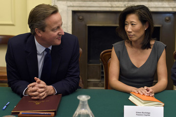 Eileen Burbidge David Cameron Hosts Members of His Business Advisory Group