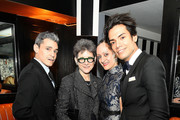 (L-R) Ruben Toledo, Tracey Riese, Isabel Toledo and Omar Hernandez attend the El Museo Del Barrio Pre-Gala Bash at Omar's on February 29, 2016 in New York City.