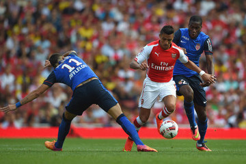 Elderson Echiejile Arsenal v AS Monaco
