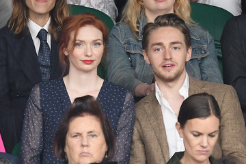 Eleanor Tomlinson Celebrities Attend Wimbledon