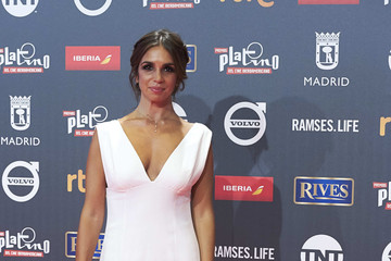 Elena Furiase Red Carpet - Platino Awards 2017