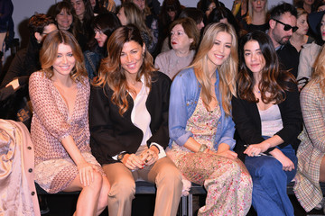 Elena Santarelli Front Row at the Kristina T Show