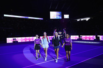 Elena Vesnina BNP Paribas WTA Finals Singapore Presented by SC Global - Day 6
