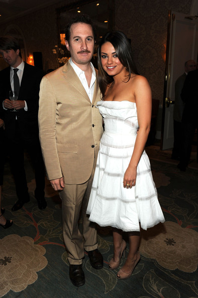 Director Darren Aronofsky (L) and Mila Kunis attend the Eleventh Annual AFI Awards reception at the Four Seasons Hotel on January 14, 2011 in Los Angeles, California.