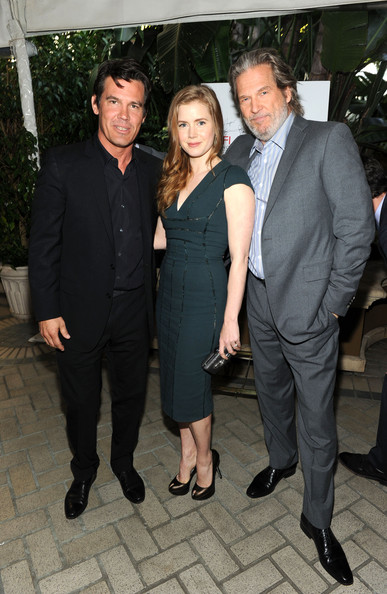 Actor Josh Brolin (L) Amy Adams and Jeff Bridges attend the Eleventh Annual AFI Awards at the Four Seasons Hotel on January 14, 2011 in Los Angeles, California.