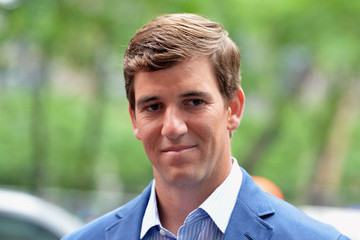 Eli Manning Eli Manning Visits 'Fox and Friends'