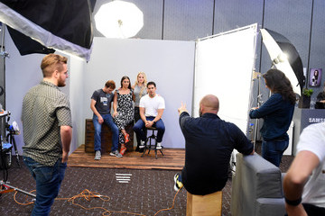 Eli Roth Behind The Scenes of the Getty Images Portrait Studio Powered By Samsung Galaxy At Comic-Con International 2015