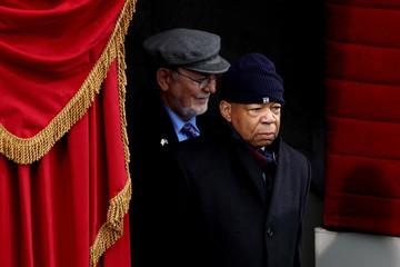 Elijah Cummings Donald Trump Is Sworn In As 45th President Of The United States