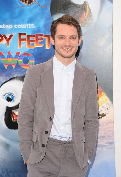 Elijah Wood Actor Elijah Wood attends the Premiere of Warner Bros. Pictures' 'Happy Feet Two' at Grauman's Chinese Theatre on November 13, 2011 in Hollywood, California.