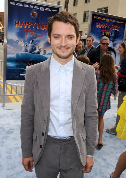 """Elijah Wood Actor Elijah Wood attends the Premiere of Warner Bros. Pictures' """"Happy Feet Two"""" at Grauman's Chinese Theatre on November 13, 2011 in Hollywood, California."""