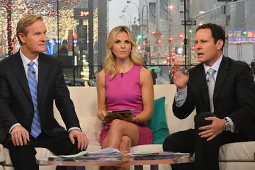 Elisabeth Hasselbeck Celebs Drop by 'FOX & Friends'
