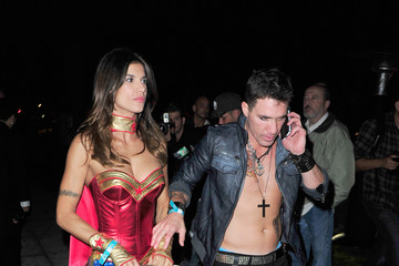Elisabetta Canalis Casamigos Halloween Party At The Home Of Mike Meldman