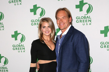 Eliza Coupe Arrivals at Global Green USA's 11th Annual Pre-Oscar Party
