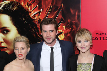 Elizabeth Banks Jennifer Lawrence 'The Hunger Games: Catching Fire' Premieres in NYC — Part 2