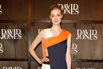 Elizabeth Debicki David Jones A/W 2014 Collection Launch