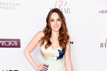 Elizabeth Gillies Harper's Bazaar Celebrates 150 Most Fashionable Women - Arrivals