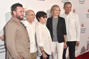 Jake Glaser, Jeffrey Katzenberg, Marilyn Katzenberg, Willow Bay and Bob Iger attend the Elizabeth Glaser Pediatric Aids Foundation's 30th Anniversary, A Time For Heroes Family Festival at Smashbox Studios on October 28, 2018 in Culver City, California.